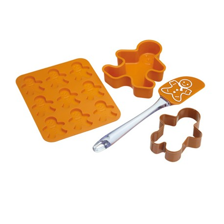 Kit de galletas hombres de gengibre