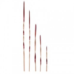 Brocheta de bambu looping 10 cms (100 uds)