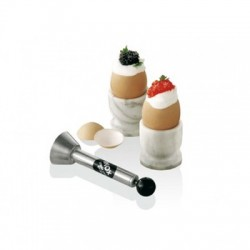 Abridor de huevos inox profesional