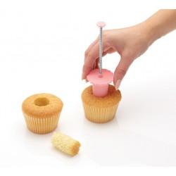 Vaciador para cupcakes