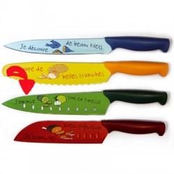 Cuchillo verduras verde