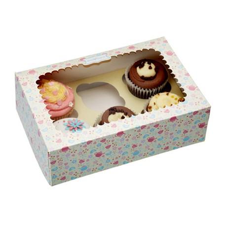 Caja para Cupcakes (2 Uds)