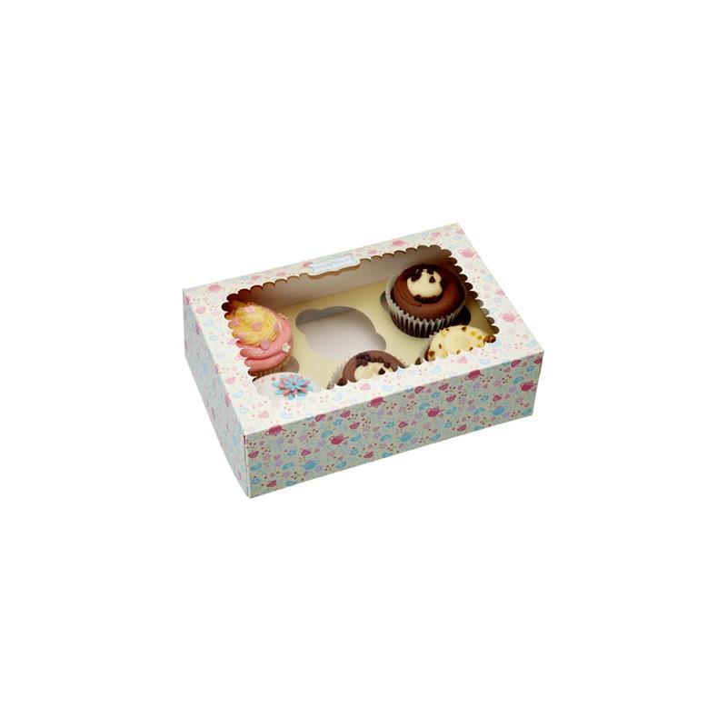 Cajita para cupcakes - Cajas de carton bonitas ...