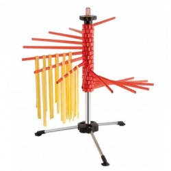 Secador para pasta fresca rojo