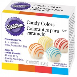Colorantes para chocolate wilton 4 uds