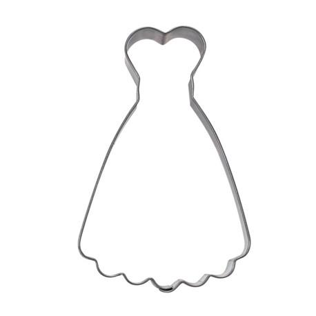 Corta pastas forma vestido