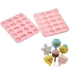 Molde para Cakepops tarta
