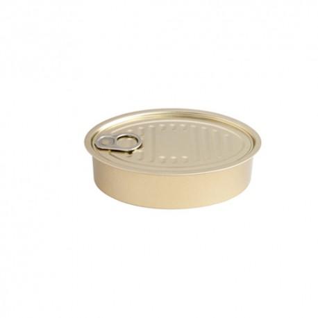 Lata oval XL para degustacion (6 uds)