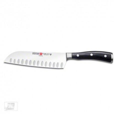 Cuchillo santoku wusthof 17 cms ikon classic