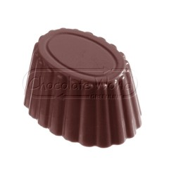 Molde bombones policarbonato ovalados