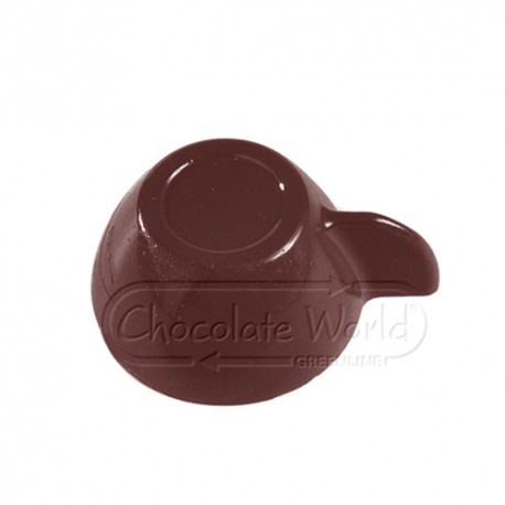 Molde bombones policarbonato tazita