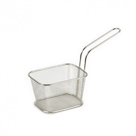 Basket chips cuadrada 13 cms