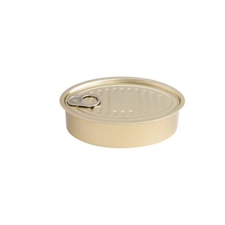 Lata oval XL para degustacion 50 Uds