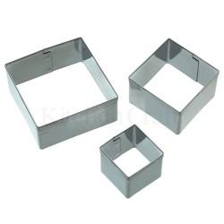 Mini cortapastas cuadrados
