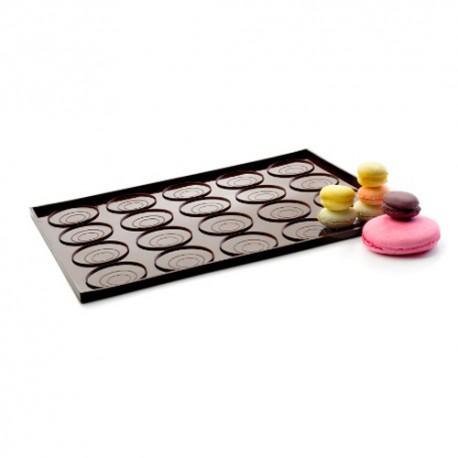Bandeja para macarons de silicona Ibili