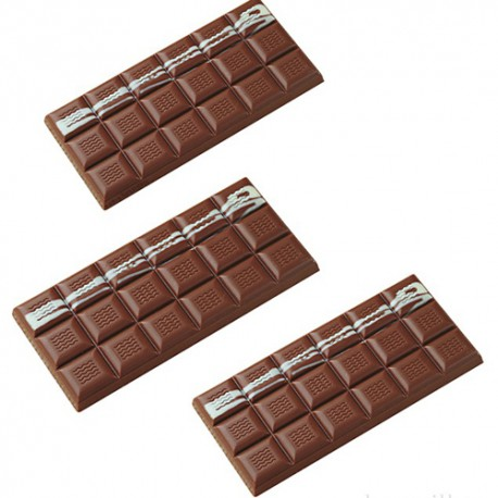 Molde tableta chocolate policarbonato MA2000
