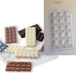 Molde tableta chocolate TC001/5