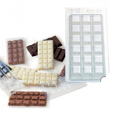 Molde tableta chocolate TC002/5