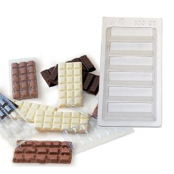 Molde tableta chocolate TC003/5