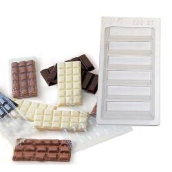 Molde tableta chocolate TC003/5
