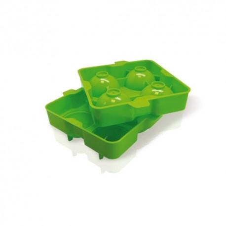 Molde para hacer 4 bolas de hielo