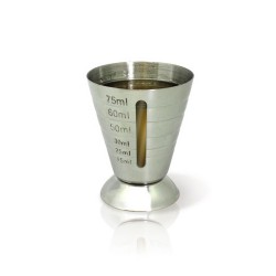 Jigger vaso medidor con ventana