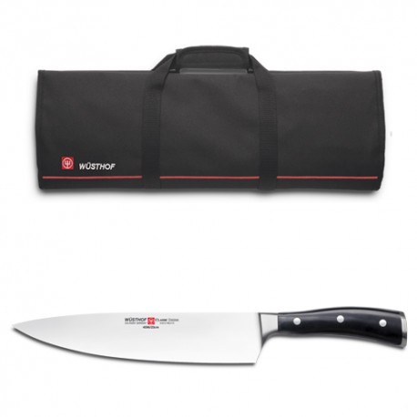 Cuchillo cebollero wusthof 23 cms ikon classic + Estuche cuchill