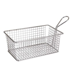 Basket chips rectangular 20 Cms
