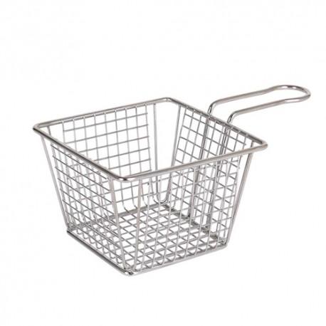 Basket chips cuadrada 12 cms