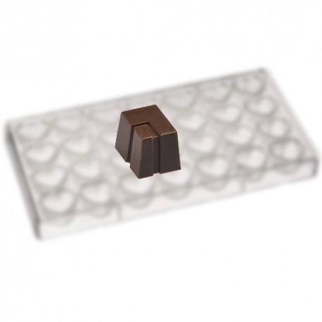 Molde bombones policarbonato MA1801