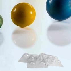 Kit para semiesferas de chocolate pequeñas