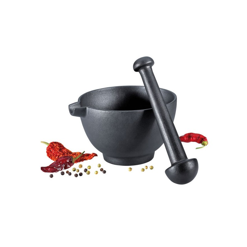 Mortero de cocina de hiuerro fundido - Mortero de cocina ...