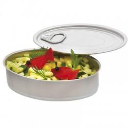 Lata oval para degustacion (100 uds)