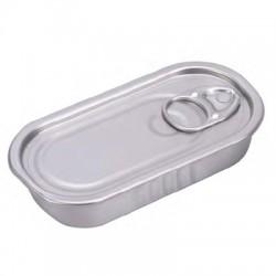 Lata rectangular para degustacion (100 uds)
