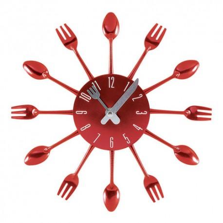 Reloj de cocina color rojo - Relojes de cocina modernos ...