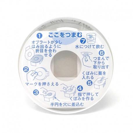Obulato redondo 9 Cms (100 Uds)