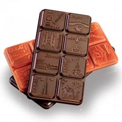 Molde para hacer tabletas de chocolate MA2011