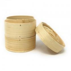 Vaporera de bambu 16 cms