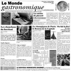 Papel cocina Le Monde