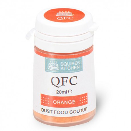 Colorante en polvo naranja