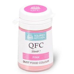 Colorante en polvo rosa