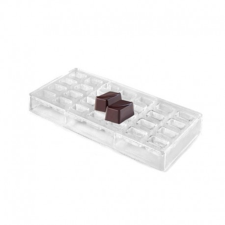 Molde para hacer bombones forma rectangular Lacor