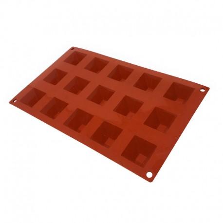 Molde piramide de silicona multicavidades