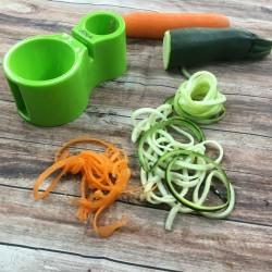 Cortador en espiral para vegetales