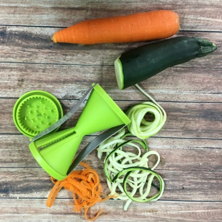 Cortador de vegetales en tiras