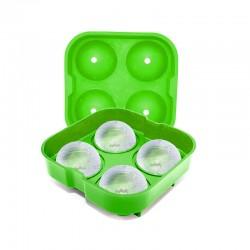 Molde para hacer 4 bolas de hielo XL