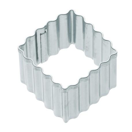 Corta pastas forma cuadrado rizado