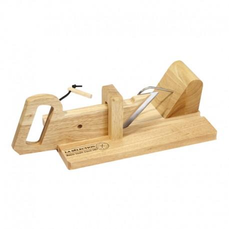 Cortador de embutido de madera
