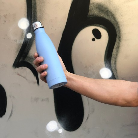 Botella termica acero medio litro