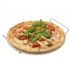 Piedra para pizza con soporte
